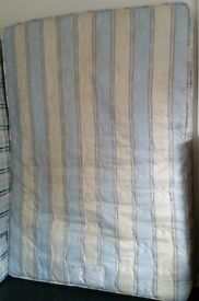 double size mattress, kozeesleep, 190cm x 135cm x 20cm thick. In clean condition.