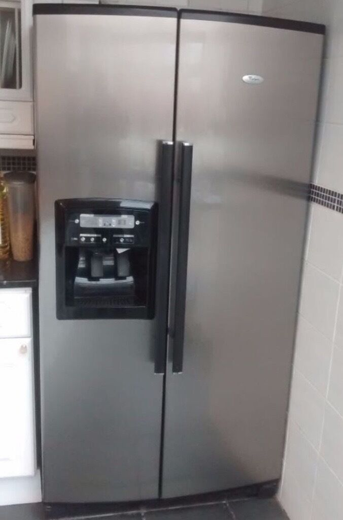 Phillips Whirlpool American Style Fridge Freezer In