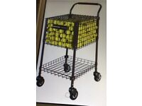 GAMMA 325 tennis ballhopper Brute teaching cart