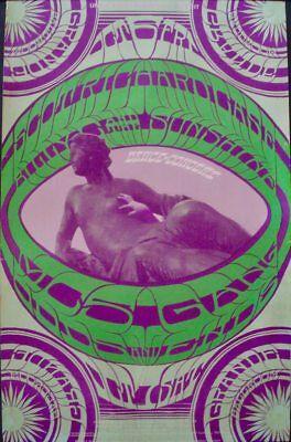 SCOTT RICHARD CASE MC5 GRANDE BALLROOM 1967 concert poster GARY GRIMSHAW