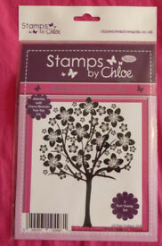 Stamps By Chloe Cherry Blossom Tree Stamps, Ref JAN063