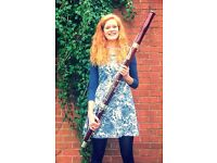Bassoon and Clarinet tuition