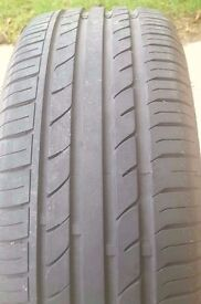 TWO Westlake tyres 205/45/17 nearly new