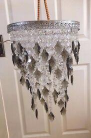 Crystal Light Pendant Shade Very pretty NEW