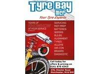 Any Size Tyre New or Part Worn