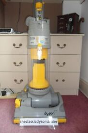 dyson DC04 ALL FLOORS NEW MOTOR + 3 month warranty bagless upright vacuum cleaner fully refurbished