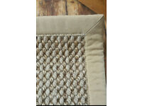 Designer Sisal Rug - Perfect for Living Room - Fantastic condition - RRP £200~