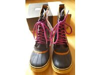 BNIB Sorel Boots Waterproof Snow Boots 1964 Premium CVS Insulated RP £140 UK 3.5. Ski boots