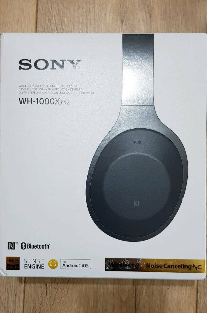 Sony Wh 1000 Xm2 Noise Cancelling Headphones Black In