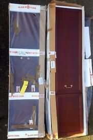 10 ~ G plan mahogany wardrobe doors only (no carcass)