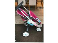 Quinny double dolls pram