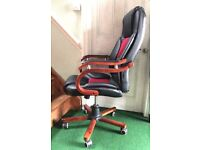Office chair, high back, good condition