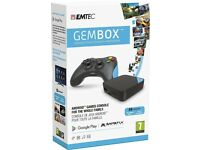 Gembox Android Console TV Box New Unopened Boxed