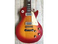 1972 Gibson Les Paul Deluxe Cherry Sunburst