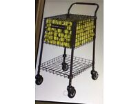 GAMMA BRUTE Tennis teaching cart