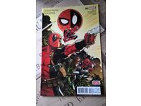 Spider-Man/Deadpool #3 (May 2016, Marvel) First Print.