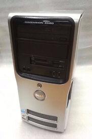 DELL DIMENSION DESKTOP PC 160GB HDD 3GB RAM WITH RECEIPT