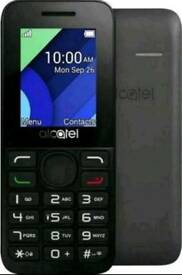 Alcatel 1054X Black/Grey Smartphone NEW