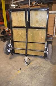 Folding Trailers Made In Canada No Room for full size Utility Trailers? Now you Do !!!