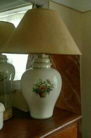 Pickman's factory ceramic lamp