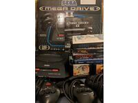 Sega Megadrive II Boxed With 3 Controllers and 8 Games £80 ono