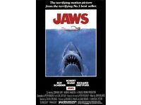 Screening of JAWS film at Brockwell Lido - Thursday 24th May