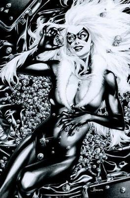 BLACK CAT #1 ANACLETO B&W VIRGIN VARIANT MARVEL COMICS FELICIA HARDY SPIDER-MAN](Black Cat Felicia Hardy)
