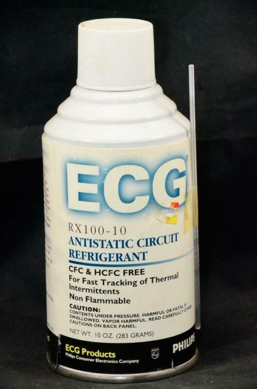 NEW Philips ECG Anti Static Circuit Refrigerant Thermal Spray 10oz Bottle Can