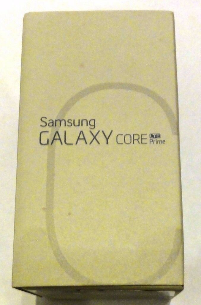 NEW UNLOCKED SAMSUNG GALAXY CORE PRIME 4G LTE WIFI BLUETOOTH SMARTPHONE UNLOCKED TO ALL NETWORKS