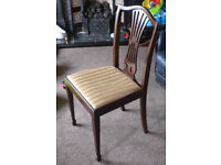 DINING ROOM CHAIRS Traditional Set Of 6