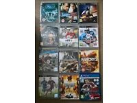ps3 games & one ps4 game. £2 each