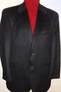 NEW $850 Ralph Lauren Mens Jacket 38R 100% Cashmere Black Blazer Superfine Wool Canada OAKVILLE  Ph 905-510-8720