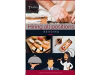 SUSHI CHEF WANTED