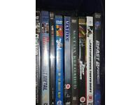Mixed videos and dvds