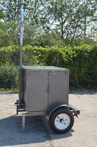 Utilty Trailer folds up compact Brand new Marked Down To Sell