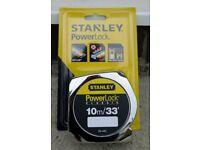 Stanley 10m 33ft Powerlock Tape Measure