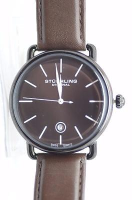Stuhrling Original Classic Analog Black Dial Men's Watch - 768.03 - B36