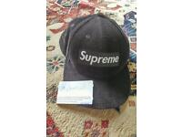 Supreme corduroy fitted cap