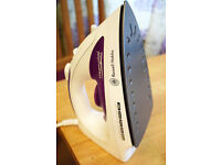 Russell Hobbs steamglide Iron, 2400 W - White and Purple