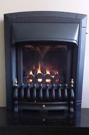 Valor Homeflame Dream HE Slimline Inset Gas Fire ( Black )