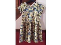 Minion Dress age 12-13 years