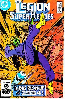 Legion of Super Heroes #311