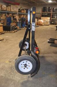 Folding Utilty Trailer Made In Canada No Room for full size Trailers? Now you Do !!!