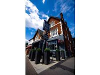 Bar and Waiting Staff, The Prince of Wales, Hampton Court KT8