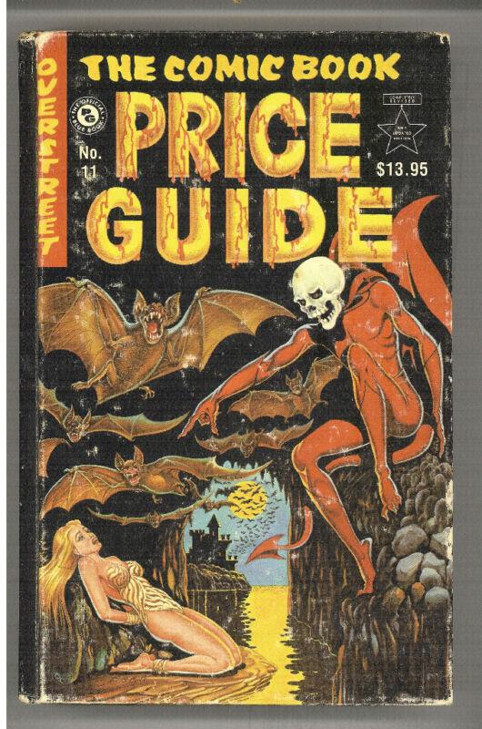 Comic Book Price Guide #11 HC, Overstreet 1981 VG