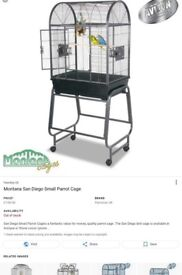 Small Bird Or Parrot Cage