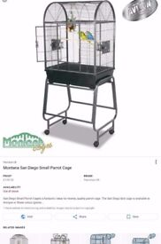 Bird/Parrot Cage With Stand