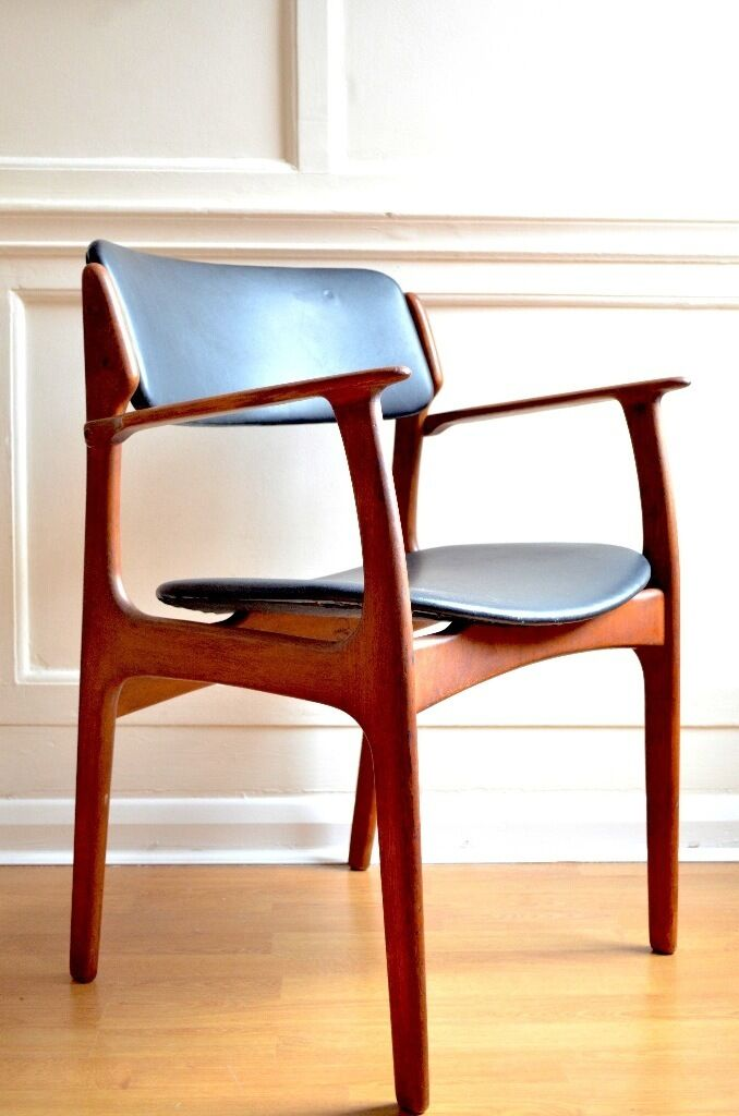 Vintage Mid century Danish Erik Buch model 49 rosewood chair. Deliveryin Hampstead, LondonGumtree - Vintage Mid century Danish Erik Buch model 49 rosewood carver chair for sale. Highly collectable iconic and very stylish, this chair is in very good vintage condition, it has one cosmetic dowel missing (barely noticeable as pictured) and a slight...