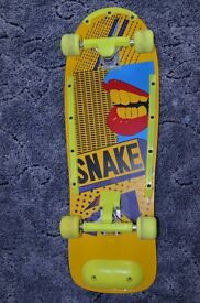 Classic 1990s Skateboard