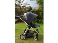 Mamas and Papas SOLA pushchair, footmuff and raincover